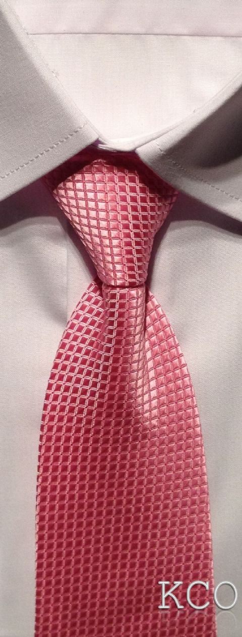 Elasticated Tie~ Style 102E Pink